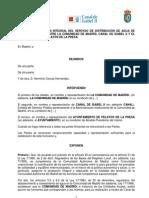 Nuevo convenio de distribución de agua de Pelayos con el Canal de Isabel II