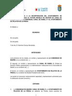 Convenio de incorporación al futuro modelo de gestión del Canal de Isabel II