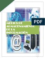 MEDIOS DE ALMACENAMIENTO DE LA INFORMACIÓN