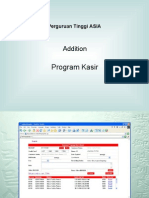 Addition Projectkasir