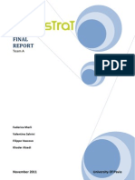 (2011) Markstrat Final Report - Team A