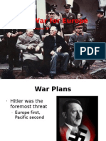The War for Europe