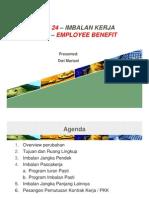 PSAK 24 Imbalan Kerja IAS 19 Employee Benefit 240911