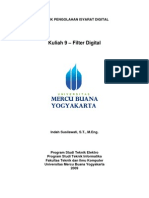 Kuliah 9 Filter Digital