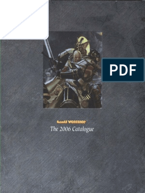 Games Workshop Catalogue 2006 | Armed Conflict | Leisure