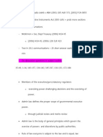 Administrative Law Summary 1