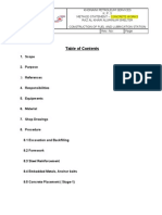 Concrete Method Statement