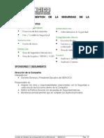Comite ISO 17799-Version 1