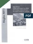 Règles NV 65 (Février 2009) DTU P 06-002 - Règles définissant les effets de la neige et du vent s