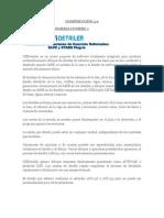 PROGRAMAS DE ESTRUCTURAS