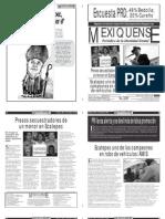 Versión impresa del periódico El mexiquense 21 mayo 2012