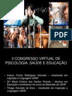 APRESENTAÇÃO INESSA II CONGRESSO VIRTUAL INESSA