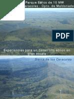 Generador Eolico Caracoles Uruguay