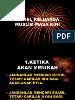Model Keluarga Muslim