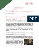 Foundation for Development of COA 3-25-12