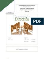 Dirección de una Organizacion