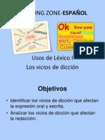 Usos del Léxico I