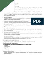 PREGUNTAS DE LUBRICACION