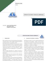 ESPECIFICACIONES TECNICA- PINTURA