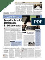 La Borsa 2.0 perde velocità, di Chiara Merico, Avvenire 11/12/11