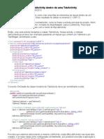 Android – Criar uma ListActivity dentro de uma TabActivity