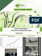 20120227_Waste Management Final Presentation_Pranay Sandeep