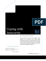 Coping With Job Insecurity