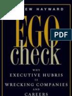 Ego Check