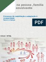 Processos de reabilitação e adaptação à incapacidade na pediatria