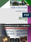 PARMENIDES Y HERACLITO