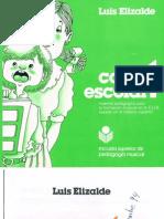 Método de Lenguaje Musical Canto Escolar 1. Reducido