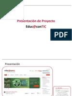 Presentación de Proyecto Educ@contic. #1