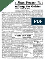 Neuer Vorwaerts - Sozialdemokratisches Wochenblatt 1933-06-18 - Nr. 01 - Beilage (2 S., Scan)