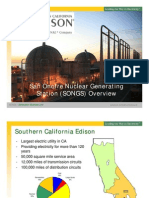 San Onofre Nuclear Generating Station (SONGS) Overview - Generation Business Unit - Edison International
