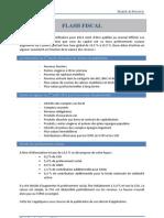 Actualite Fiscale, 1 ère Loi de  Finances Rectificative pour 2012, Marne Et Finance