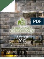 2013 Urban Land Conservancy Atlas