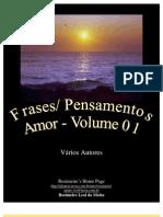 Frases Pensamentos - Volume 1