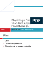 Physiologie cardiovasculaire (I)