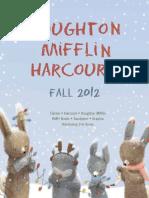 Fall 2012 HMH Books Children's Catalog