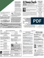May 20 Bulletin