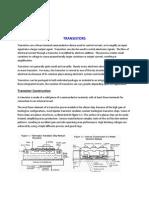 Transistors - General Information