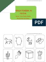 Baraja fonema /k/ posición inicial
