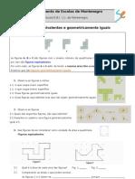 Figura Equivalentes e Geometricamente Iguais