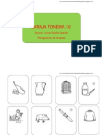 Baraja fonema /X/