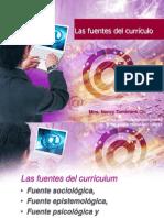 Fuentes y Elementos Del Curriculo 24109