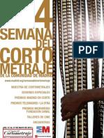 Programa 14º Semana del Cortometraje de Madrid 2012