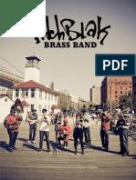 pitchblak brass band 2012-13 epk 2