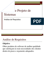 Especificação de Requisitos 1