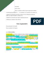 Texto Argumentativo Expresion Oral