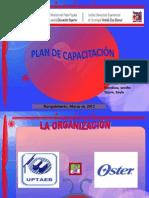 EVALUACIÓN DEL PLAN DE CAPACITACION EN EL AREA DE MOTIVACION AL LOGRO DEL PERSONAL ADMINISTRATIVO